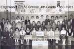 Edgewood Grade School 4th Grade 1960-1961. by Ed Wills